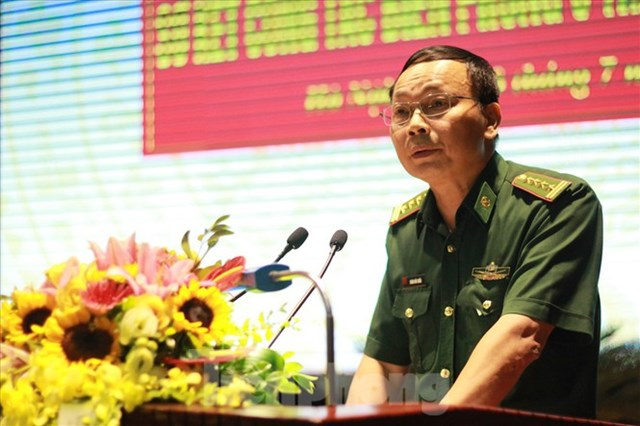 Phó Tham mưu trưởng Bộ đội Biên phòng Hoàng Hữu Chiến.