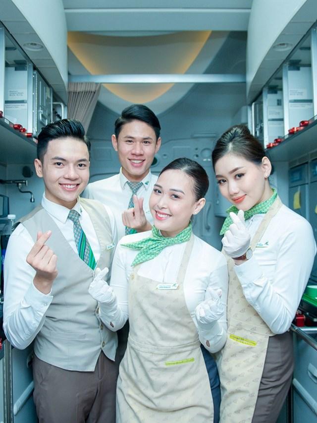Anh Lợi hạnh phúc khi trở thành một thành viên trong ngôi nhà chung Bamboo Airways: trẻ trung, chuyên nghiệp, hiện đại.