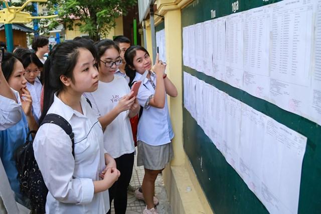 Trước khi bước vào kỳ thi.