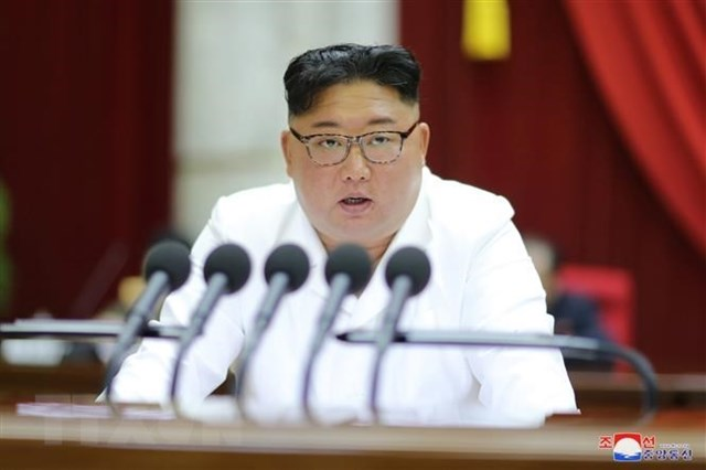 Nhà lãnh đạo Triều Tiên Kim Jong-un. (Nguồn: Yonhap/TTXVN).