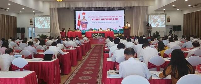 Kỳ họp HĐND tỉnh Nghệ An lần thứ 15 khóa 17 sẽ trình Nghị quyết về chính sách cho cán bộ, công chức cấp xã dôi dư.