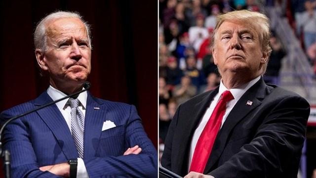 Cựu Phó Tổng thống Joe Biden và Tổng thống Donald Trump. Ảnh: ABC News.
