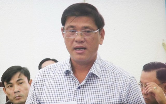 Ông Dương Chí Bình, Phó Chủ tịch UBND thành phố Bạc Liêu. (Ảnh: Huỳnh Sử/TTXVN).