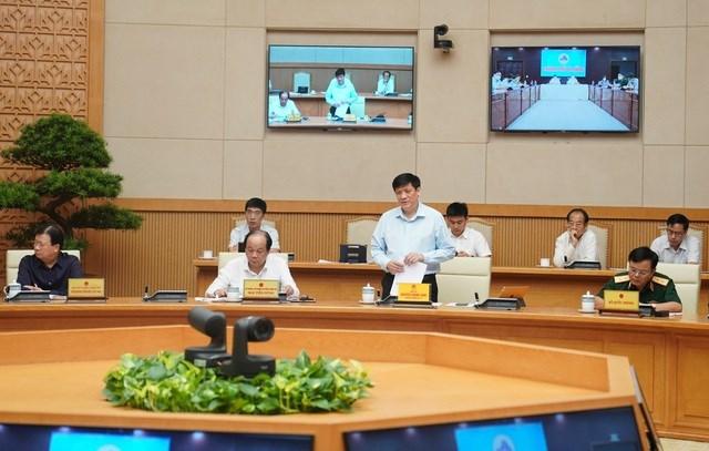 Quyền Bộ trưởng Y tế Nguyễn Thanh Long thông tin, ca bệnh Covid-19 ở Đà Nẵng mang chủng virus mới, xâm nhập từ nước ngoài vào.
