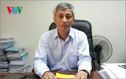 Chuyên gia môi trường, TS. Hoàng Dương Tùng - Chủ tịch Mạng lưới Không khí sạch Việt Nam.