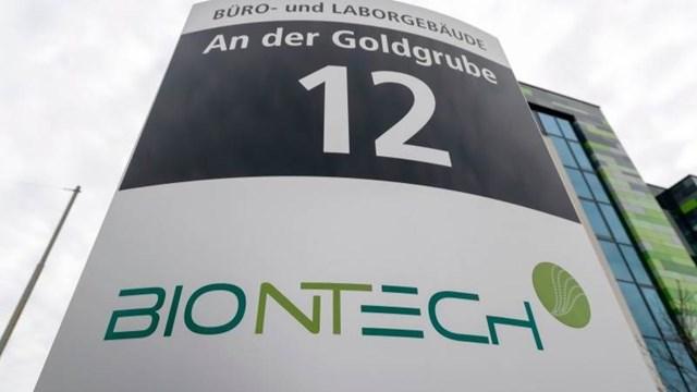 Tập đoàn dược phẩm BioNTech của Đức. (Ảnh: Teletrader).