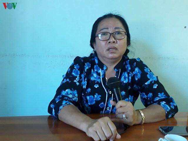 Chị Phạm Thị Hạnh cho biết, người dân ở đây đang bị ô nhiễm tiếng ồn và bụi từ các nhà máy nhiệt điện.