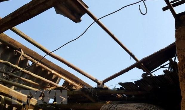 Hậu Giang: 3 nhà bị sập, 3 nhà bị tốc mái do mưa to kèm theo dông lốc - Ảnh 1