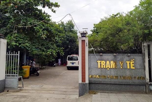 Trạm Y tế phường Hòa Minh, quận Liên Chiểu, thành phố Đà Nẵng. (Ảnh: PV/Vietnam+).