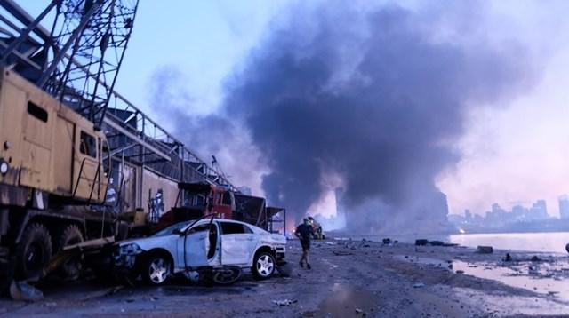 Nhân chứng vụ nổ kinh hoàng ở Beirut: 'Chúng tôi không còn lại gì' - Ảnh 1
