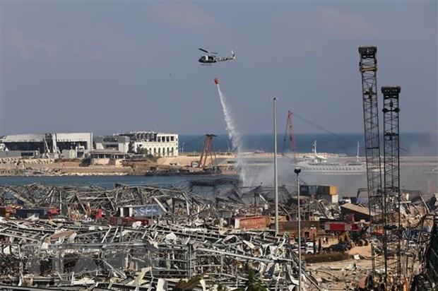 Liban bắt giữ 16 người để điều tra về vụ nổ tại Beirut - Ảnh 1