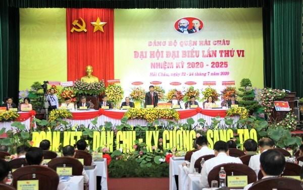 Đại hội Đại biểu Đảng bộ quận Hải Châu.