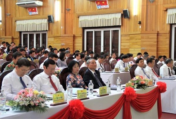 Các Đại hội Đảng bộ cấp trên cơ sở ở Đà Nẵng đã làm tốt công tác văn kiện, nhân sự.