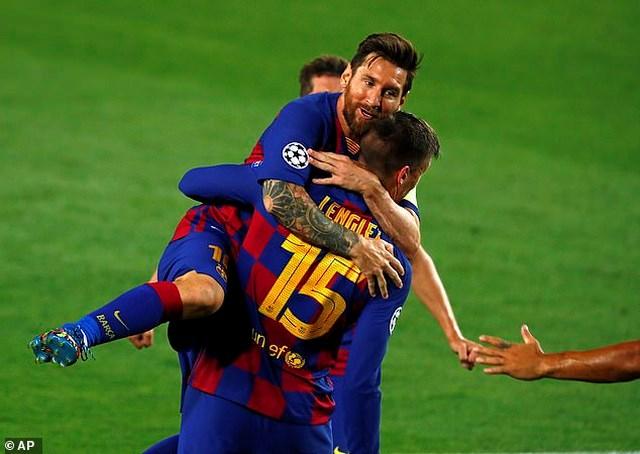 Messi rực sáng, Barcelona hạ Napoli, vào tứ kết Champions League - Ảnh 3