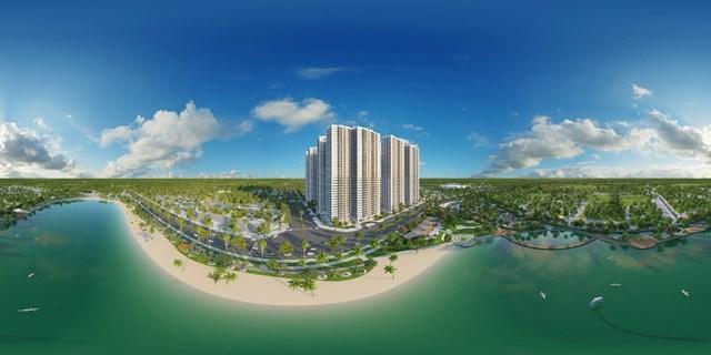 Vị trí đắc địa mang đến phong thủy vượng khí cho các căn hộ Imperia Smart City.