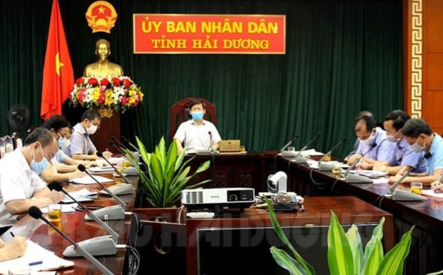 Tỉnh Hải Dương đang xem xét thực hiện giãn cách xã hội đối với TP Hải Dương theo Chỉ thị 16 của Thủ tướng Chính phủ. Ảnh: Báo Hải Dương.