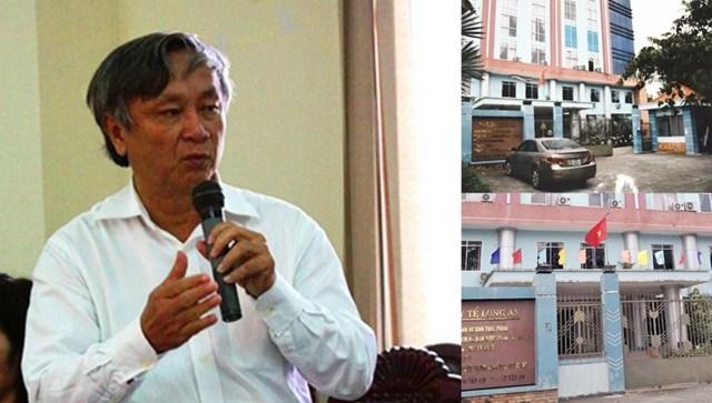 Ông Lê Thanh Liêm, nguyên Giám đốc Sở Y tế Long An.