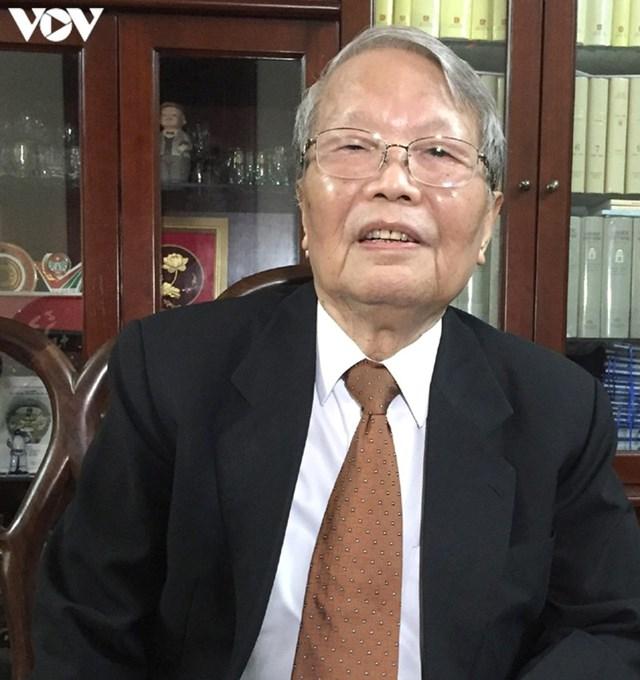 Nguyên Chủ tịch nước Trần Đức Lương.