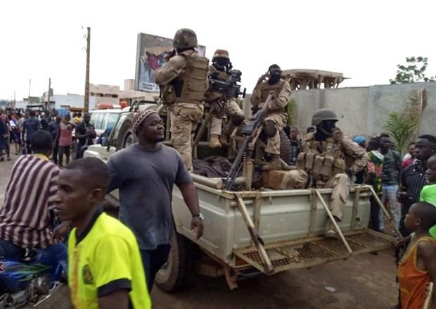 Binh biến ở Mali. (Ảnh: Reuters).