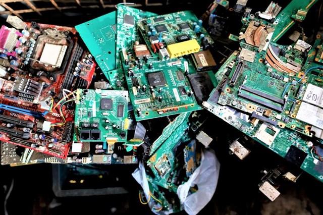 """Rác thải điện tử là một """"kho báu"""" theo đúng nghĩa đen của nó. Nguồn: nationalinterest.org."""