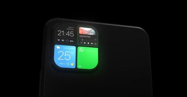 iPhone 12 sẽ có cụm camera sau thành màn hình phụ - Ảnh 1