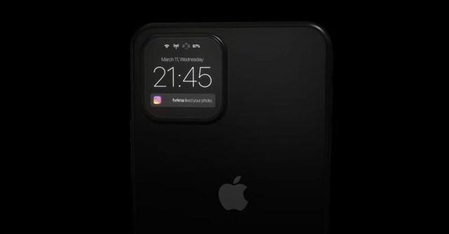 iPhone 12 sẽ có cụm camera sau thành màn hình phụ - Ảnh 2