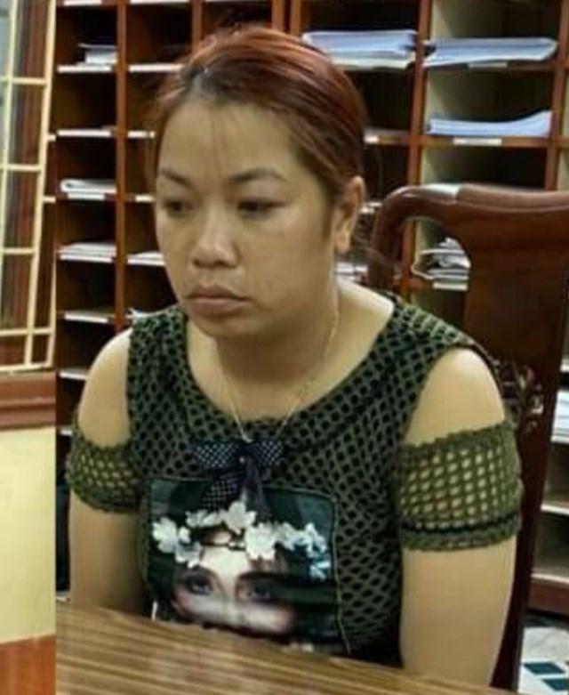 Đối tượng Nguyễn Thị Thu bị khởi tố về tội