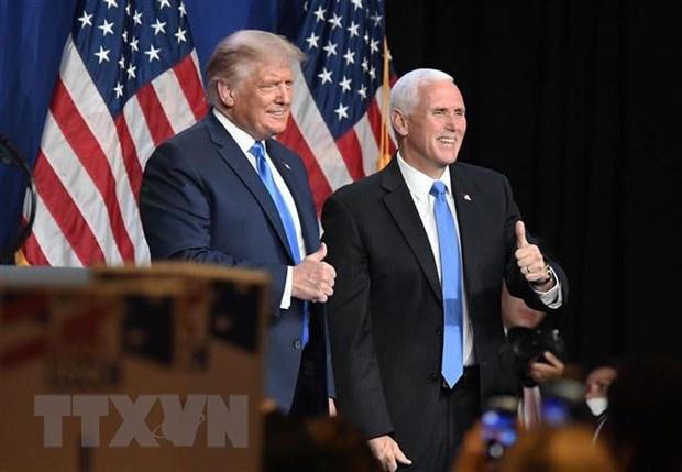 Ông Donald Trump bất ngờ xuất hiện tại Đại hội Toàn quốc đảng Cộng hòa - Ảnh 1