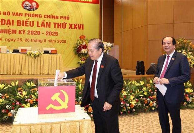 VPCP đóng góp hoàn thiện dự thảo văn kiện Đại hội Đảng - Ảnh 4
