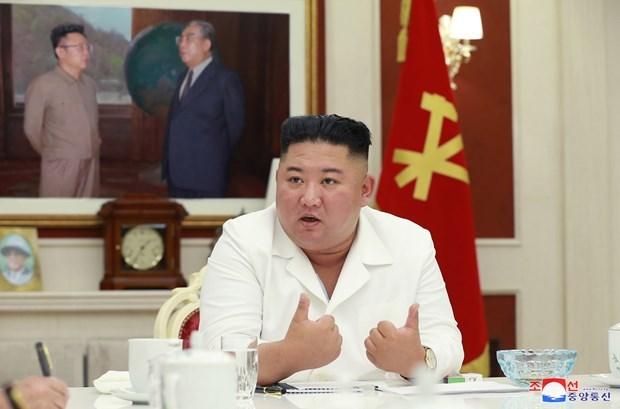 Nhà lãnh đạo Triều Tiên Kim Jong-un. (Ảnh: Yonhap/TTXVN).
