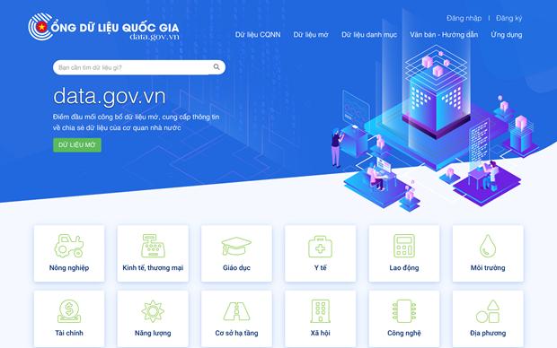 Cổng dữ liệu quốc gia Data.gov.vn chính thức đi vào hoạt động - Ảnh 1