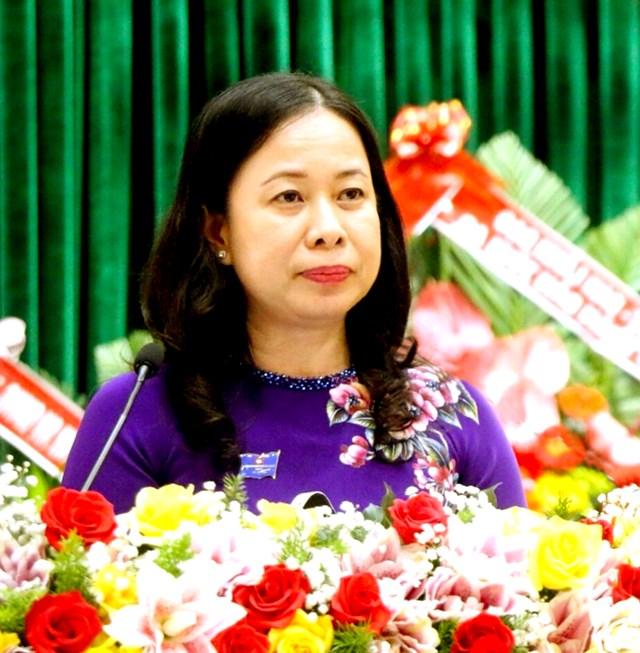 Bà Võ Thị Ánh Xuân.