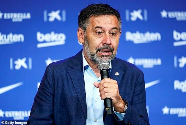 Chủ tịch Bartomeu khẳng định ông sẵn sàng từ chức nếu bị coi là nguyên nhân khiến Messi rời sân Nou Camp.