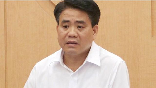 Ông Nguyễn Đức Chung bị tạm đình chỉ đại biểu HĐND TP Hà Nội.