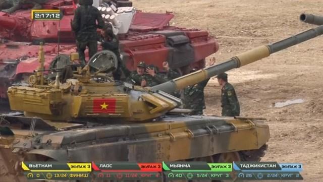 Việt Nam vô địch bảng 2 nội dung xe tăng tại Army Games 2020 - Ảnh 8