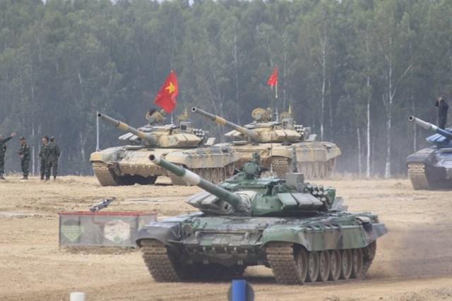 Việt Nam vô địch bảng 2 nội dung xe tăng tại Army Games 2020 - Ảnh 1