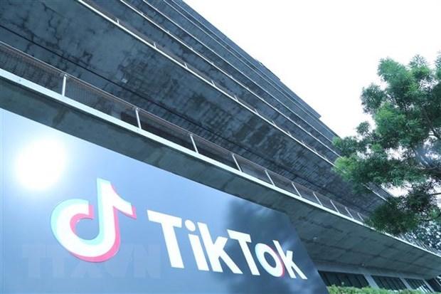 Văn phòng TikTok tại thành phố Culver, Los Angeles, Mỹ. (Ảnh: THX/TTXVN).