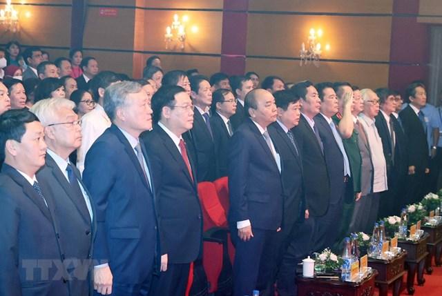 Thủ tướng dự kỷ niệm 75 năm Ngày thành lập Đài tiếng nói Việt Nam - Ảnh 8