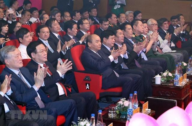 Thủ tướng dự kỷ niệm 75 năm Ngày thành lập Đài tiếng nói Việt Nam - Ảnh 9