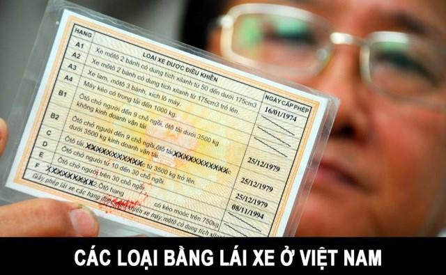 Theo tờ trình dự án luật Bảo đảm trật tự, an toàn giao thông đường bộ, sẽ có nhiều thay đổi về các loại bằng, cách thức quản lý bằng lái xe tại Việt Nam.