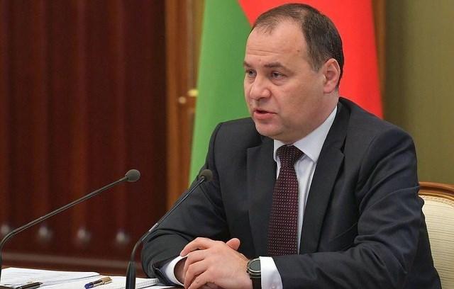 Thủ tướng Belarus tiêm vaccine Covid-19 của Nga - Ảnh 1