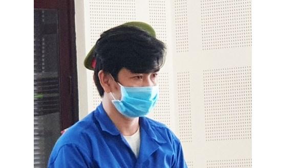 Bị cáo Huỳnh Ngọc Tân tại phiên xét xử.