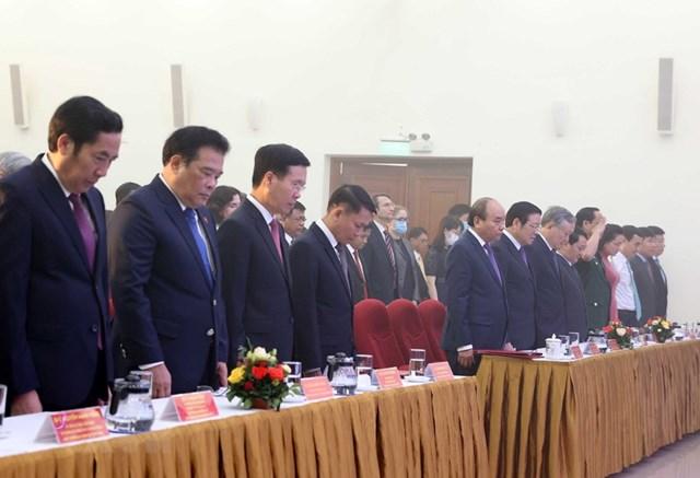 [ẢNH]Thủ tướng Nguyễn Xuân Phúc dự Lễ kỷ niệm 75 năm Ngày thành lập TTXVN - Ảnh 18