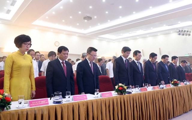 [ẢNH]Thủ tướng Nguyễn Xuân Phúc dự Lễ kỷ niệm 75 năm Ngày thành lập TTXVN - Ảnh 19