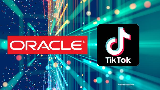 Oracle đang giành ưu thế trong thương vụ TikTok. (Ảnh minh họa: Fox Business).