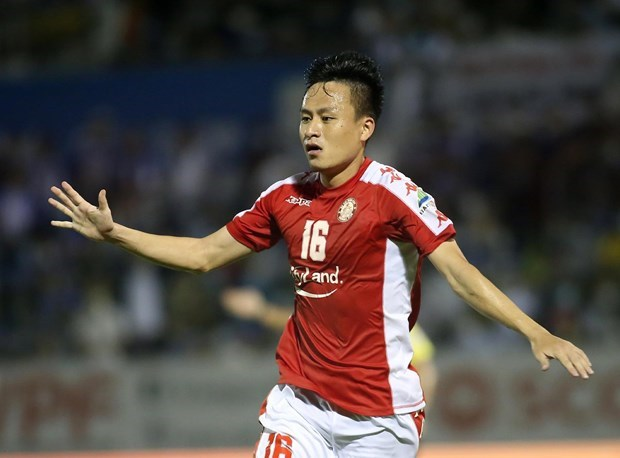 Võ Huy Toàn cũng vắng mặt ở trận đấu TP HCM với Hà Nội FC vì chấn thương. (Ảnh: CLB TP HCM).