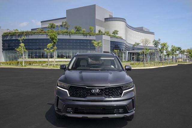 THACO giới thiệu mẫu xe Sorento thế hệ mới - Ảnh 1