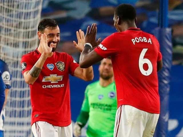 Cả Bruno Fernandes và Pogba đều có nguy cơ vắng mặt ở trận đấu với Crystal Palace.