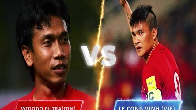 Công Vinh đã thất bại trước Widodo Putra trong cuộc bầu chọn bán kết giải Bàn thắng đẹp nhất Asian Cup