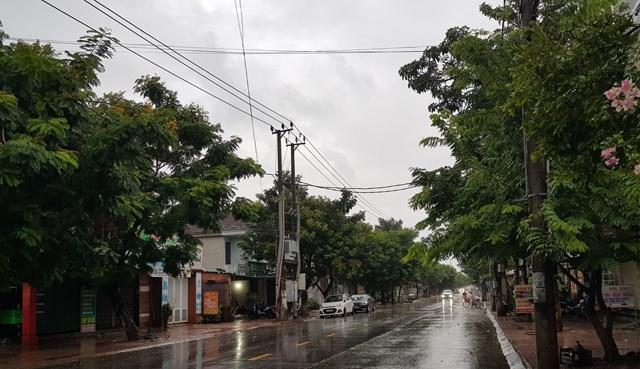 Ảnh hưởng của bão số 5, Quảng Trị mưa to - Ảnh 2